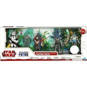ストームトルーパー ハズブロ フィギュア Star Wars Legacy Collection 2010 The Force Unleashed Figure Pack Exclusive Action Figure Set #2 [2 of 2]|fermart-hobby