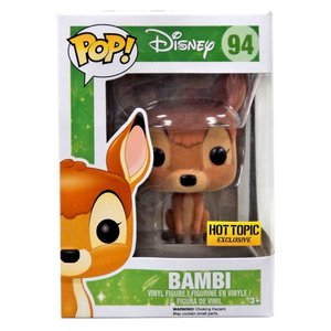 バンビ Bambi ファンコ Funko フィギュア おもちゃ POP! Disney Exclusive Vinyl Figure #94 [Flocked]|fermart-hobby
