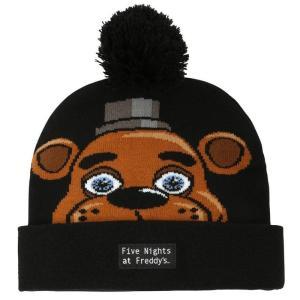 ファイヴナイツアットフレディーズ Five Nights at Freddy's バイオワールド Bioworld おもちゃ FREDDY CHARACTER POM Exclusive Beanie|fermart-hobby