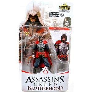 アサシン クリード Assassin's Creed ユニマックス Unimax フィギュア おもちゃ Brotherhood Gamestars Cesare Borgia Action Figure|fermart-hobby