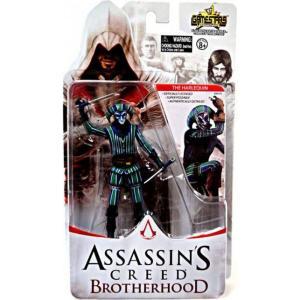 アサシン クリード Assassin's Creed ユニマックス Unimax フィギュア おもちゃ Brotherhood Gamestars The Harlequin Action Figure|fermart-hobby