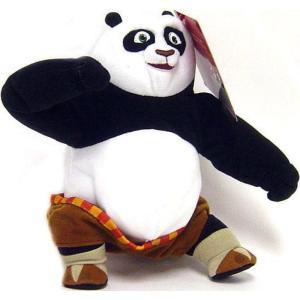カンフー パンダ Kung Fu Panda マテル Mattel Toys フィギュア おもちゃ Po 6-Inch Plush Figure|fermart-hobby