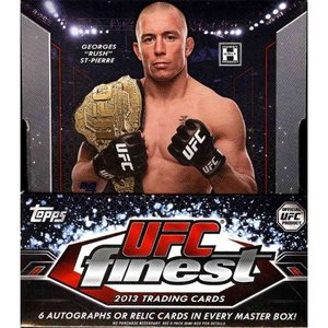UFC UFC トレーディングカード 2013 Finest Trading Card Box [12 Packs]|fermart-hobby