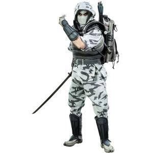 ジー アイ ジョー GI Joe サイドショウ Sideshow Collectibles フィギュア おもちゃ Cobra Enemy Storm Shadow 1/6 Collectible Figure [Camo Version]|fermart-hobby