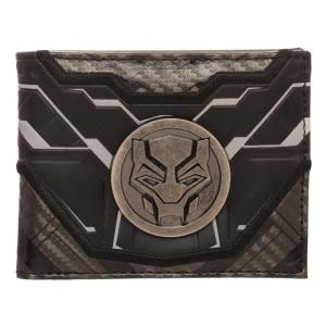 ブラックパンサー Black Panther バイオワールド Bioworld ユニセックス 財布 Marvel Bi-Fold Wallet|fermart-hobby