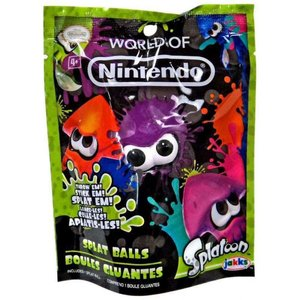 スプラトゥーン Splatoon ジャックスパシフィック Jakks Pacific おもちゃ World of Nintendo Purple Squid Splat Ball|fermart-hobby