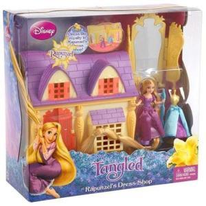 塔の上のラプンツェル Tangled マテル Mattel Toys おもちゃ Disney Rapunzel's Dress Shop Playset|fermart-hobby