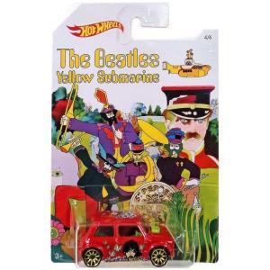 ビートルズ The Beatles おもちゃ・ホビー Hot Wheels Yellow Submarine 50th Anniversary Morris Mini Die-Cast Car #4/6|fermart-hobby