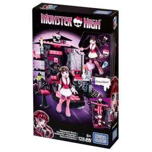 モンスター ハイ Monster High メガブロックス Mega Bloks おもちゃ Vamptastic Room Set #38049 [Draculaura]|fermart-hobby