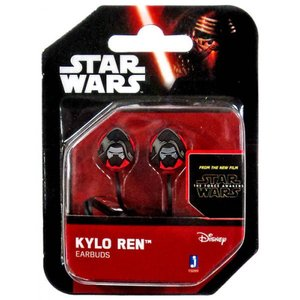 カイロ レン Kylo Ren ジャズウェアーズ Jazwares ユニセックス テックアクセサリー Star Wars The Force Awakens Earbuds|fermart-hobby