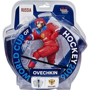 NHL インポートドラゴン Imports Dragon フィギュア おもちゃ Russia World Cup of Hockey 2016 Alex Ovechkin Action Figure|fermart-hobby