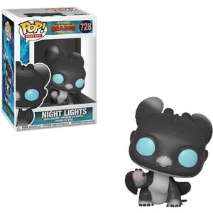 ヒックとドラゴン How to Train Your Dragon フィギュア The Hidden World POP! Movies Night Lights Vinyl Figure #728 [Sherece, Black, Blue Eyes] fermart-hobby