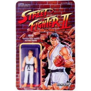 リアクション ReAction フィギュア Street Fighter II Ryu Action Figure|fermart-hobby
