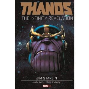 サノス Thanos マーベル Marvel おもちゃ : The Infinity Revelation Original Graphic Novels Hard Cover Comic Book|fermart-hobby