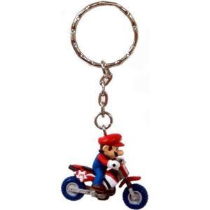 スーパーマリオ Super Mario バンプレスト BanPresto ユニセックス キーホルダー Mario Kart Wii Volume 1 Mario Keychain [Motorcycle]|fermart-hobby