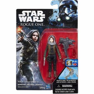 ジン アーソ Jyn Erso ハズブロ Hasbro Toys フィギュア おもちゃ Star Wars Rogue One Sergeant (Jedha) Action Figure [Projectile Firing]|fermart-hobby