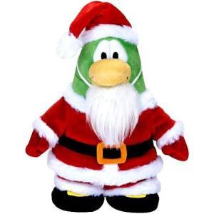 クラブ ペンギン Club Penguin ジャックスパシフィック Jakks Pacific フィギュア おもちゃ Series 5 Santa 6.5-Inch Plush Figure [Holiday, Version 2]|fermart-hobby