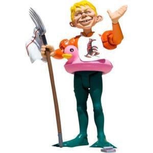 アクアマン Aquaman ディーシー コミックス DC Collectibles フィギュア おもちゃ DC MAD Just Us League of Stupid Heroes Alfred E. Neuman as Action Figure|fermart-hobby