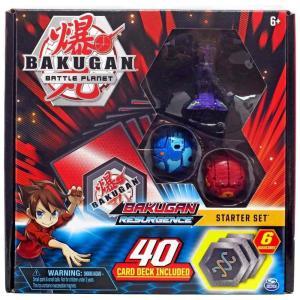 爆丸バトルブローラーズ Bakugan Battle Planet おもちゃ・ホビー Resurgence Darkus Hydranoid Starter Set|fermart-hobby