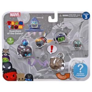 ガーディアンズ オブ ギャラクシー Marvel Tsum Tsum Series 3 Ronan, Nebula, Thanos, Star-Lord, Gamora, Drax, Rocket & Groot 1-Inch Minifigure 9-Pack|fermart-hobby