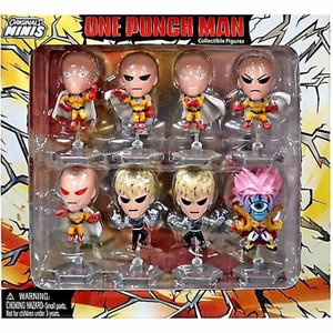 ワンパンマン One Punch Man Zag トイズ Zag Toys フィギュア おもちゃ Original Minis Mini Figure 8-Pack|fermart-hobby