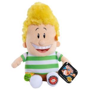 スーパーヒーロー パンツマン Captain Underpants ジャストプレイ Just Play ぬいぐるみ おもちゃ Harold Talking Plush|fermart-hobby