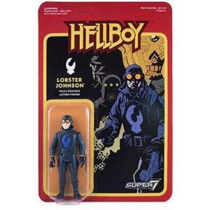 リアクション ReAction フィギュア Hellboy Series 1 Lobster Johnson Action Figure|fermart-hobby