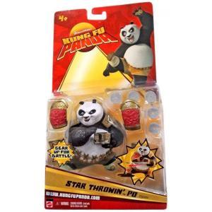 カンフー パンダ Kung Fu Panda マテル Mattel Toys フィギュア おもちゃ Po Action Figure [Star Throwin]|fermart-hobby