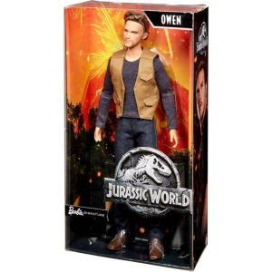バービー Barbie ぬいぐるみ・人形 Jurassic World Fallen Kingdom Signature Owen Doll|fermart-hobby