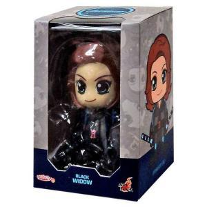 ブラック ウィドウ Black Widow ホットトイズ Hot Toys フィギュア おもちゃ Marvel Avengers Age of Ultron Cosbaby Series 2 3-Inch Mini Figure|fermart-hobby