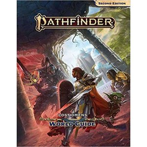 パスファインダー Pathfinder 本・雑誌 2nd Edition Lost Omens World Guide Role Play Book|fermart-hobby