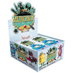 マンチキン Munchkin トレーディングカード ブースターボックス Collectible Card Game Booster Box [24 Packs]|fermart-hobby