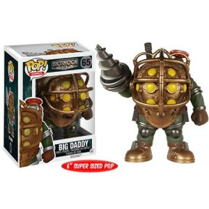 バイオショック Bioshock フィギュア POP! Games Big Daddy 6-Inch Vinyl Figure #65 [Super-Sized]|fermart-hobby