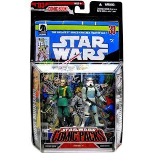 ストームトルーパー Stormtrooper ハズブロ フィギュア おもちゃ Star Wars A New Hope Comic Packs 2006 Grand Moff Tarkin & Action Figure 2-Pack|fermart-hobby