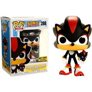 ソニック ザ ヘッジホッグ Sonic The Hedgehog フィギュア ビニールフィギュア POP! Games Shadow with Chao Exclusive Vinyl figure|fermart-hobby