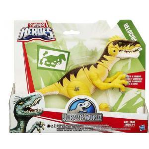 ジュラシック ワールド Jurassic World ハズブロ Hasbro Toys フィギュア おもちゃ Playskool Heroes Chompers VELOCIRAPTOR Figure|fermart-hobby