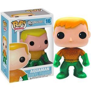 アクアマン Aquaman ファンコ Funko フィギュア おもちゃ DC Universe POP! Heroes Exclusive Vinyl Figure #16 [New 52 Version]|fermart-hobby