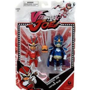ビューティフル ジョー Viewtiful Joe フィギュア 2点セット Series 1 & Captain Blue Action Figure 2-Pack fermart-hobby