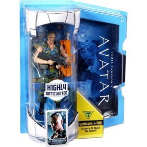 アバター Avatar マテル Mattel Toys フィギュア おもちゃ James Cameron's Deluxe Cololen Miles Quaritch Action Figure|fermart-hobby