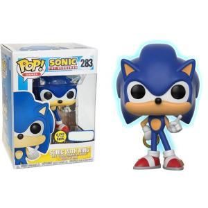 ソニック ザ ヘッジホッグ Sonic The Hedgehog フィギュア ビニールフィギュア POP! Games Sonic with Ring Exclusive Vinyl figure|fermart-hobby