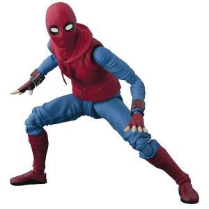 スパイダーマン Spider-Man バンダイ フィギュア おもちゃ Marvel Homecoming S.H. Figuarts Homemade Costume Action Figure [Tamashii Option Act Wall ]|fermart-hobby