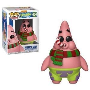 スポンジ ボブ Spongebob Squarepants フィギュア POP! TV Patrick Star Vinyl Figure #454 [Christmas] fermart-hobby