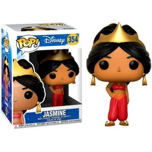 アラジン Aladdin フィギュア POP! Disney Jasmine Vinyl Figure #354 [Red Animated] fermart-hobby