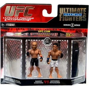 UFC UFC フィギュア Ultimate Micro Fighters Series 2 Randy Couture vs. Antonio Nogueira Mini Figure 2-Pack|fermart-hobby