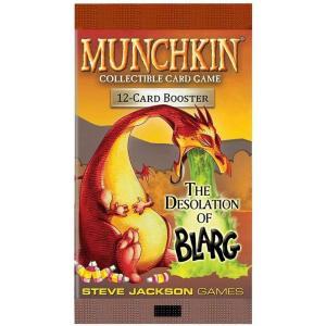 マンチキン Munchkin トレーディングカード ブースターパック The Desolation of Blarg Booster Pack [12 Cards]|fermart-hobby