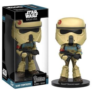 ストームトルーパー Stormtrooper ファンコ Funko フィギュア おもちゃ Star Wars Rogue One Wobblers Scarif Bobble Head|fermart-hobby