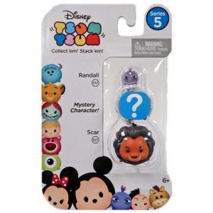 ディズニー Disney フィギュア Tsum Tsum Series 5 Randall & Sc...