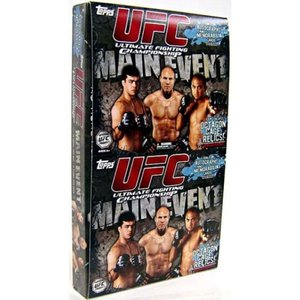 UFC トップス Topps トレーディングカード おもちゃ 2010 Round 3 Main Event Trading Card Value Rak Pak Box [18 Packs]|fermart-hobby