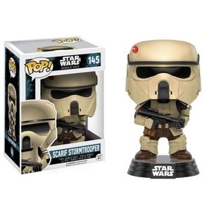 ストームトルーパー Stormtrooper ファンコ Funko フィギュア おもちゃ Rogue One POP! Star Wars Scarif Vinyl Bobble Head #145|fermart-hobby