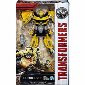 トランスフォーマー Transformers ハズブロ Hasbro Toys フィギュア おもちゃ The Last Knight Premier Deluxe Bumblebee Action Figure [Version 2]|fermart-hobby